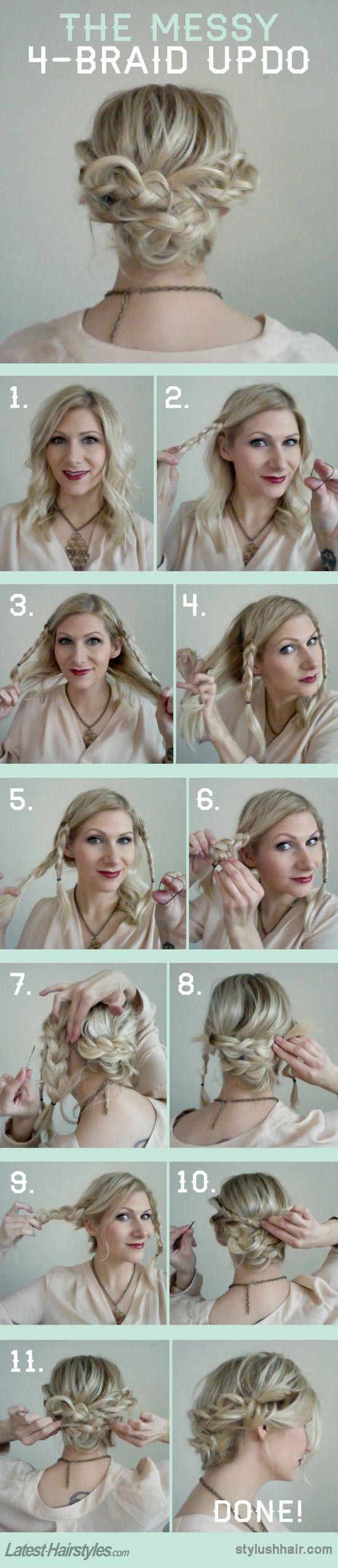 TAGS; DIY · Medium Hairstyles · Tutorials